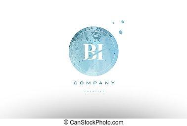 levél, vízfestmény, jel, grunge, bi, abc, szüret, b betű