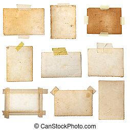 levelezőlap, öreg, fénykép