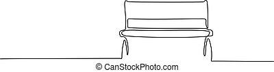 liget, rajz, erdő, egyenes, egy, bírói szék