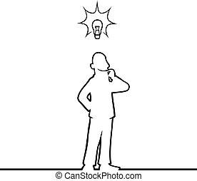 lightbulb, ember