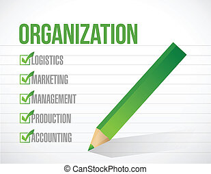 lista, ábra, megjelöl, tervezés, szervezet, ellenőriz