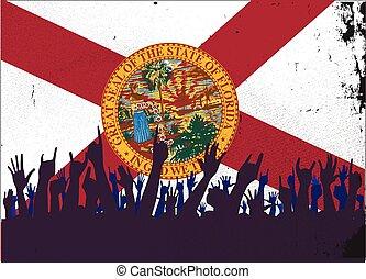 lobogó, állam, florida, kihallgatás
