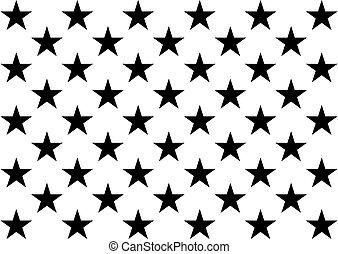 lobogó, 50, usa, design), (united, amerika, egyesült államok, csillaggal díszít