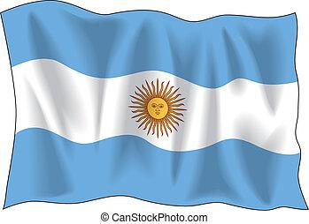 lobogó, argentína