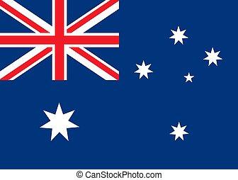 lobogó, ausztrália