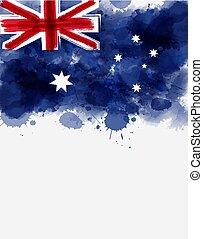 lobogó, ausztrália, háttér