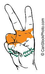 lobogó, béke, ciprusi, aláír