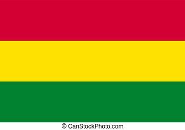 lobogó, bolívia, texture., háttér, nemzeti, hullámzás, flag.