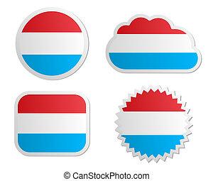 lobogó, elnevezés, luxemburg