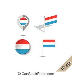 lobogó, faszegek, luxemburg, térkép