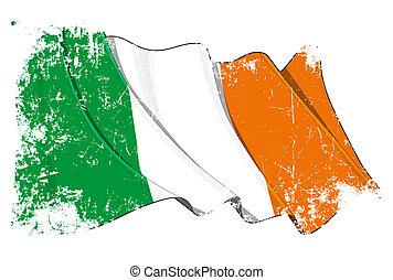 lobogó, grunge, írország