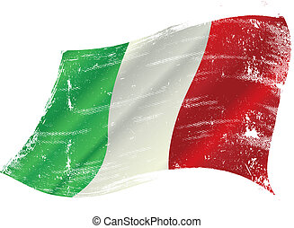 lobogó, grunge, olasz