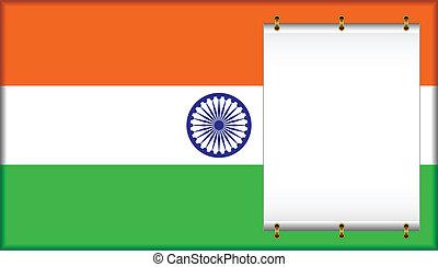 lobogó, india