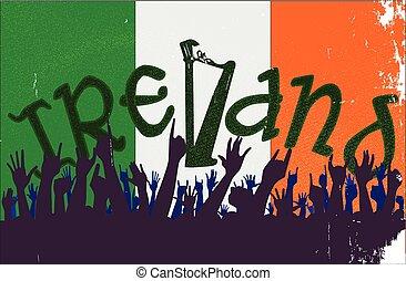 lobogó, kihallgatás, írország