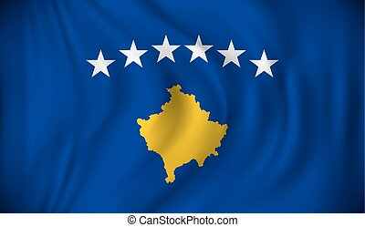 lobogó, kosovo