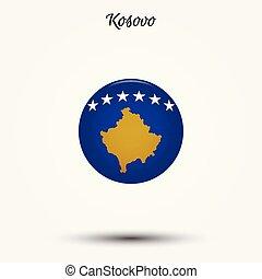 lobogó, kosovo, ikon