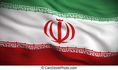 lobogó, looped., hd., iráni