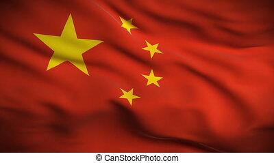 lobogó, looped., hd., kínai