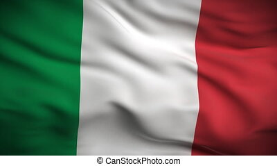 lobogó, looped., hd., olasz