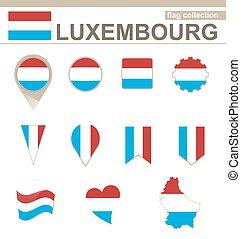 lobogó, luxemburg, gyűjtés