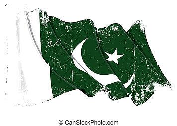lobogó, pakisztáni, grunge