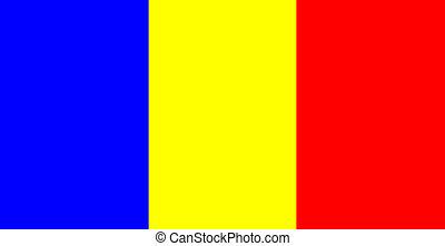 lobogó, románia