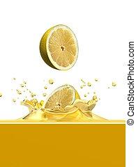 loccsanás, citrom