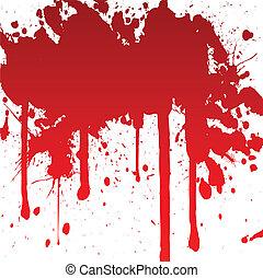 loccsanás, véres
