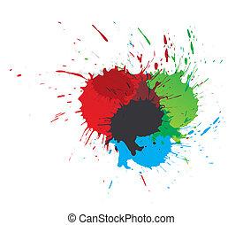 loccsan, festék, szín