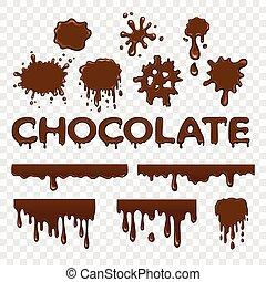 locsogás, gyűjtés, csokoládé
