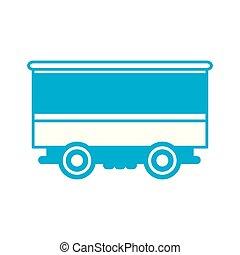 logisztika, teherárú tároló, autó, kiképez, nehéz, szállít