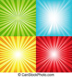lokátorral helyet határoz meg, fényes, rövid napsütés, háttér, csillaggal díszít