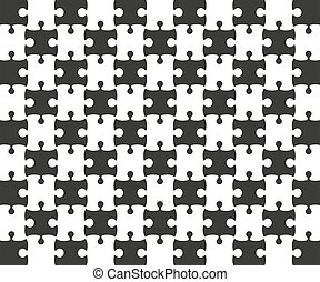 lombfűrész, fekete, rács, white., rejtvény, illustration., vektor, sablon
