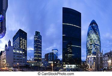 london, anyagi terület