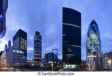 london, twilight., anyagi terület