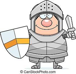 lovag, karikatúra, kard