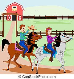 lovaglás, lóháton