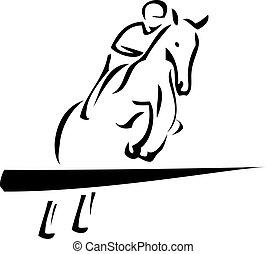 lovaglási, sport