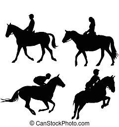 lovak, equestrians