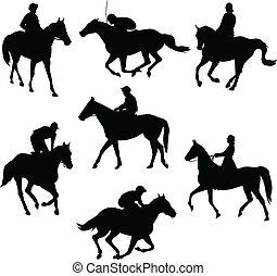 lovak, lovaglás