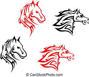 lovak, törzsi