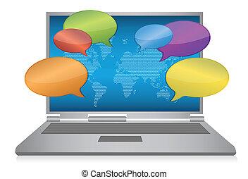 média, fogalom, internet, társadalmi