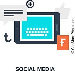 média, fogalom, társadalmi