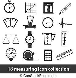 mérés, ikonok