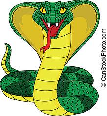 mérges, kobra, kígyó