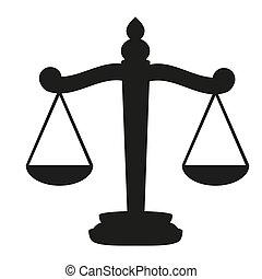 mérleg, igazságosság