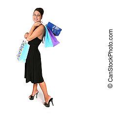 mód, bevásárlás