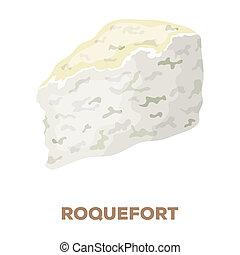 mód, roguefort., részvény, jelkép, különböző, web., bitmap, ábra, ikon, rater, sajt, karikatúra, egyedülálló, kinds