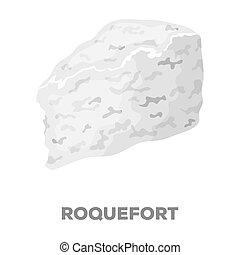 mód, roguefort., részvény, raster, jelkép, különböző, fekete, web., ábra, ikon, sajt, egyedülálló, bitmap, kinds