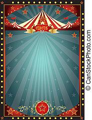 móka, cirkusz, fekete